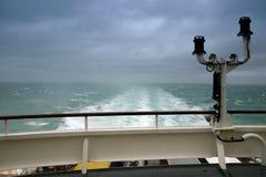 Cruising. On the North Sea Stock Photo