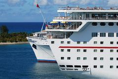 Cruising In The Bahamas Royalty Free Stock Image