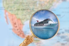Cruising in the Caribbean Royalty Free Stock Photos