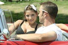 Cruising Couple Royalty Free Stock Image