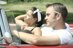 Cruising Couple Stock Photography