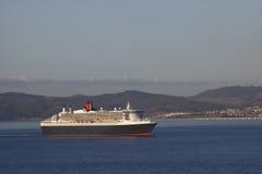 Cruising cruise ship stock photo