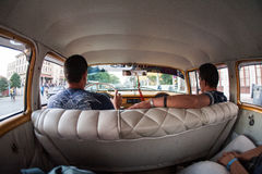 Cruising Cuba. Working the streets full of tourists in Havana, Cuba Stock Photos