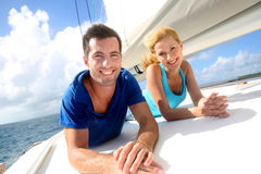 Cruising day royalty free stock photography