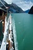 Cruising Endicott Fijord Stock Images