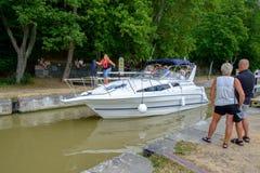 Cruising Gota Canal Stock Photos