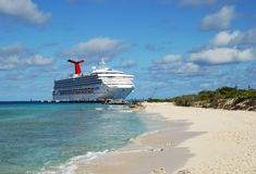 Cruising in Grand Turk Stock Photo