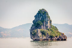 Cruising in Halong Bay, Vietnam Stock Photography