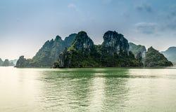 Cruising in Halong Bay, Vietnam Royalty Free Stock Photos