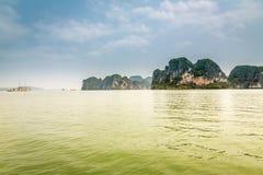 Cruising in Halong Bay, Vietnam Royalty Free Stock Photography