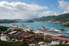 Cruising In St.Thomas Royalty Free Stock Photography