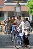 CRUISING INDONESIAN HISTORICAL TOWN Stock Photography