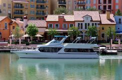 Cruising Lake Las Vegas Stock Image
