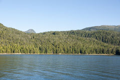Cruising in Misty Fiords National Monument Stock Photography