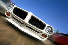 Cruising Muscle Car Stock Photos
