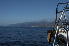 Cruising near Tenerife Stock Photo