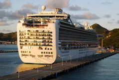 Cruising In Netherlands Antilles Stock Photography