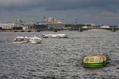 Cruising on the Neva River Royalty Free Stock Photo