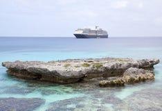 Cruising in Pacific Ocean Royalty Free Stock Image