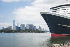 Cruising ship Stock Image