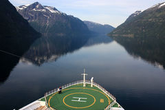 Cruising The Norwegian Fjords Royalty Free Stock Image