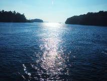 Cruising the Thousand Islands Stock Image