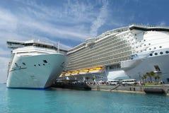 Cruising To Bahamas Stock Photo