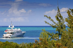 Cruising in the Turks & Caicos Islands Stock Photography