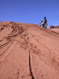 Cruising Up. A dune....wow Stock Photo
