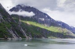 Cruising Endicott Arm. Cruising up the Endicott Arm to Dawes Glacier Royalty Free Stock Photography