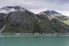 Cruising Endicott Arm. Cruising up the Endicott Arm to Dawes Glacier Royalty Free Stock Images