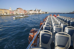 Cruising in Venice Royalty Free Stock Image