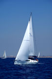 Cruising yachts Royalty Free Stock Images