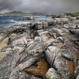 Cruit Island - dramatic landscape Stock Images