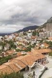 Cruje - oude capitol van Albanië stock foto