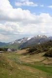Crujido de la montaña Foto de archivo libre de regalías