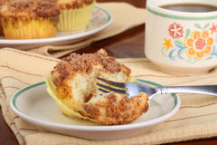 Crumb Cake Muffin Stock Images