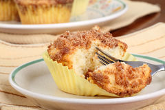 Crumb Cake Muffin Stock Photography