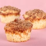 Crumb Cake Muffins Royalty Free Stock Photography