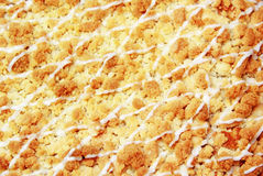 Crumb Cake Texture Royalty Free Stock Images