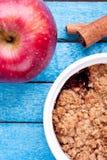 Crumble Яблока стоковая фотография