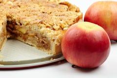 Crumble apple pie Stock Photography