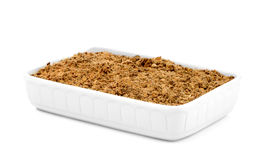 Crumble Royalty Free Stock Images