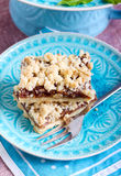 Crumble bars Royalty Free Stock Images