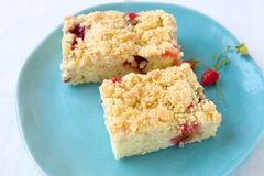 Crumble cake Royalty Free Stock Photography