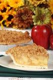 crumble jabłczany dziękczynienie Zdjęcia Royalty Free