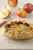 Crumble-style apple tart Royalty Free Stock Image