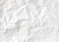 Crumbled. Paper as a textured backdrop Royalty Free Stock Photo