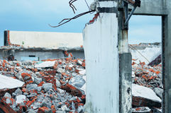 Crumbled building Royalty Free Stock Photography