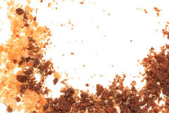 Crumbled cookies Royalty Free Stock Photography